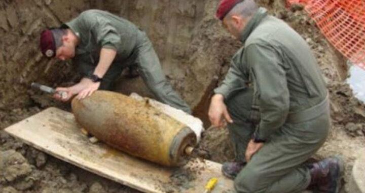 Trovata bomba nel cantiere, sgomberati 4.670 residenti