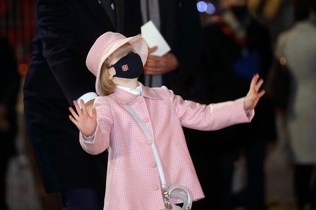 Figlia Charlene di Monaco ad una manifestazione
