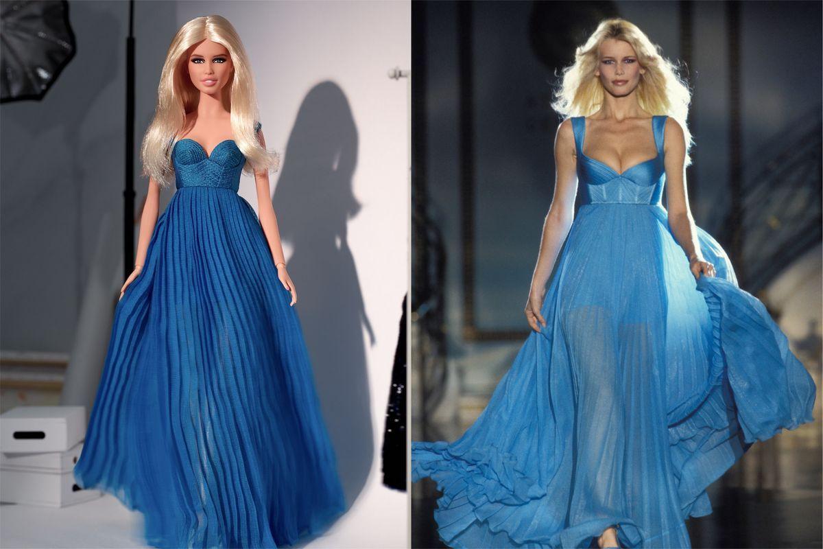 Barbie e Schiffer Claudia a confronto