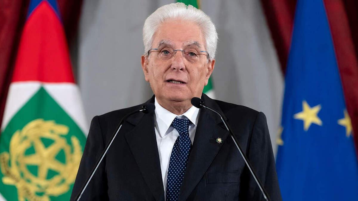Sergio Mattarella sulla Crisi di Governo