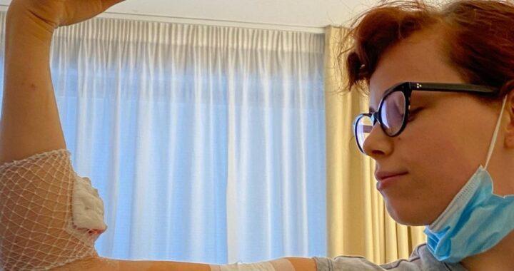 Francesca Valiani e il messaggio per sua figlia Teresa