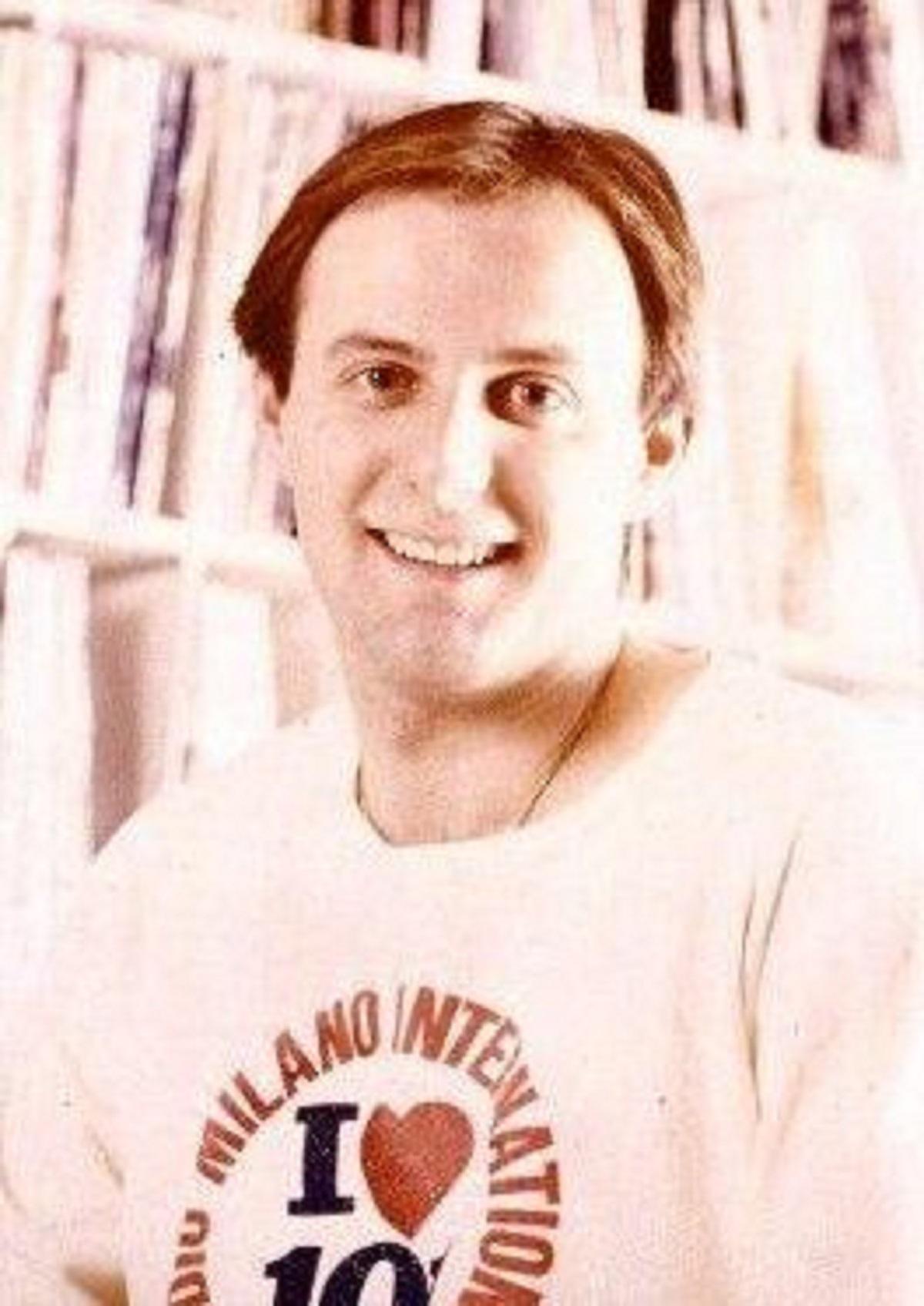 Gerry Scotti giovane