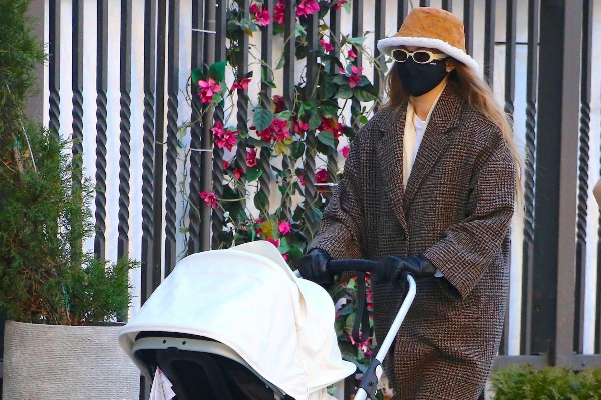 Gigi Hadid nuovo stile da mamma