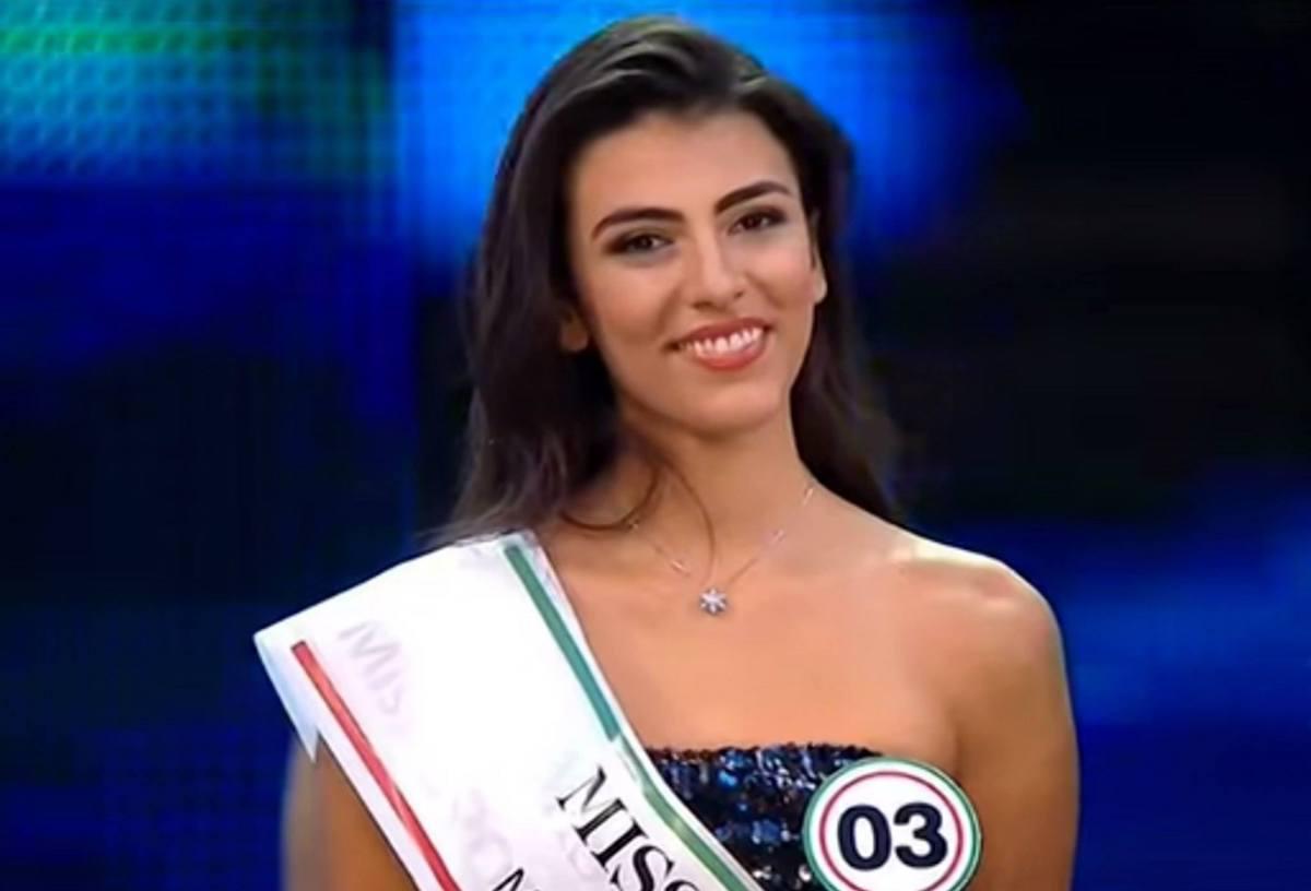 Miss Italia concorrente Salemi Giulia
