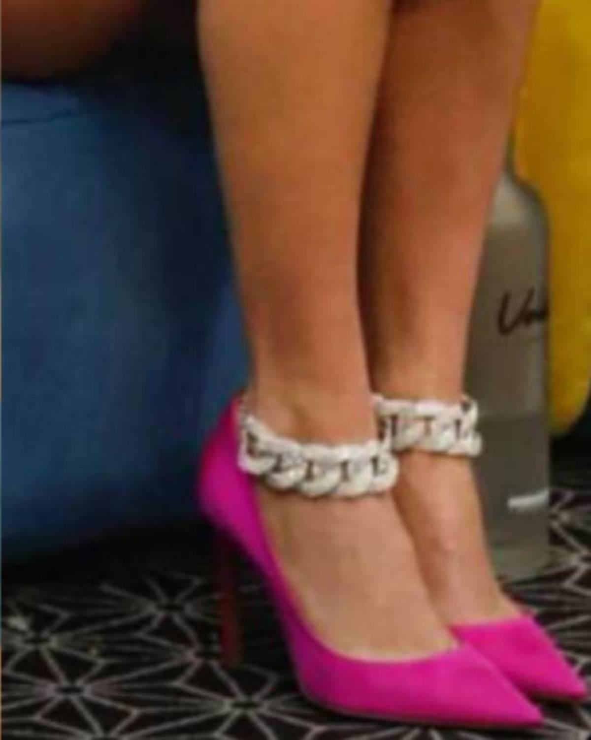 Giulia Salemi scarpe