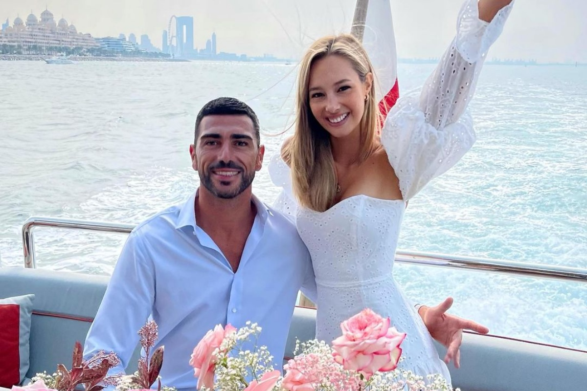 Graziano Pellè e la proposta di matrimonio a Viky Varga
