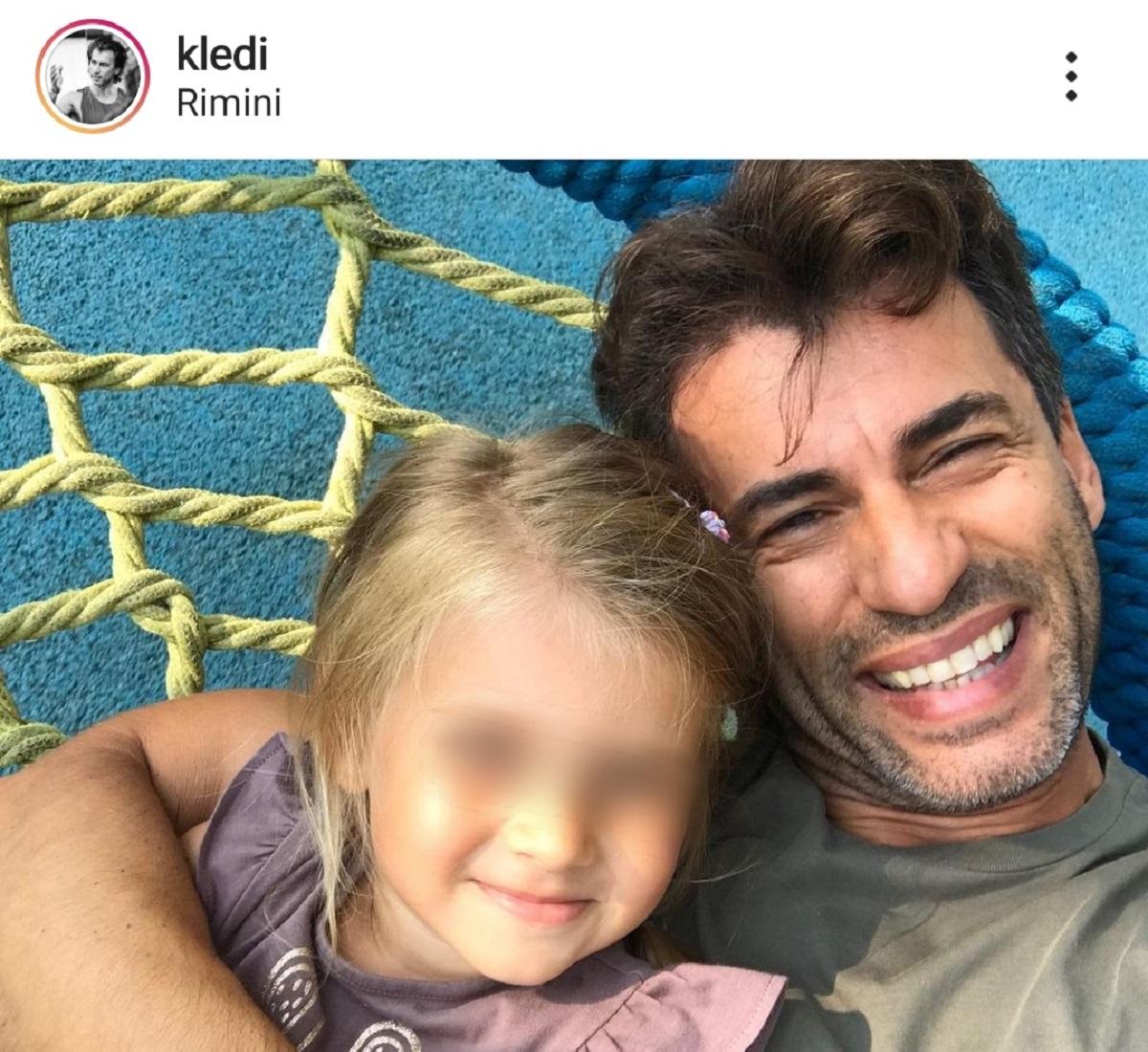 Kledi Kadiu figlia