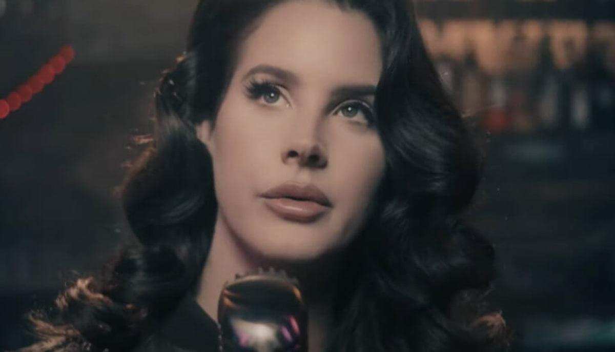 Del Rey Lana in un videoclip