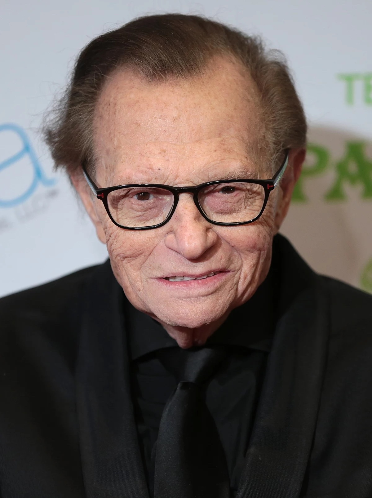 Primo piano Larry King