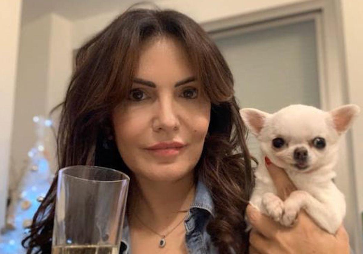 Briganti Loredana con un cane