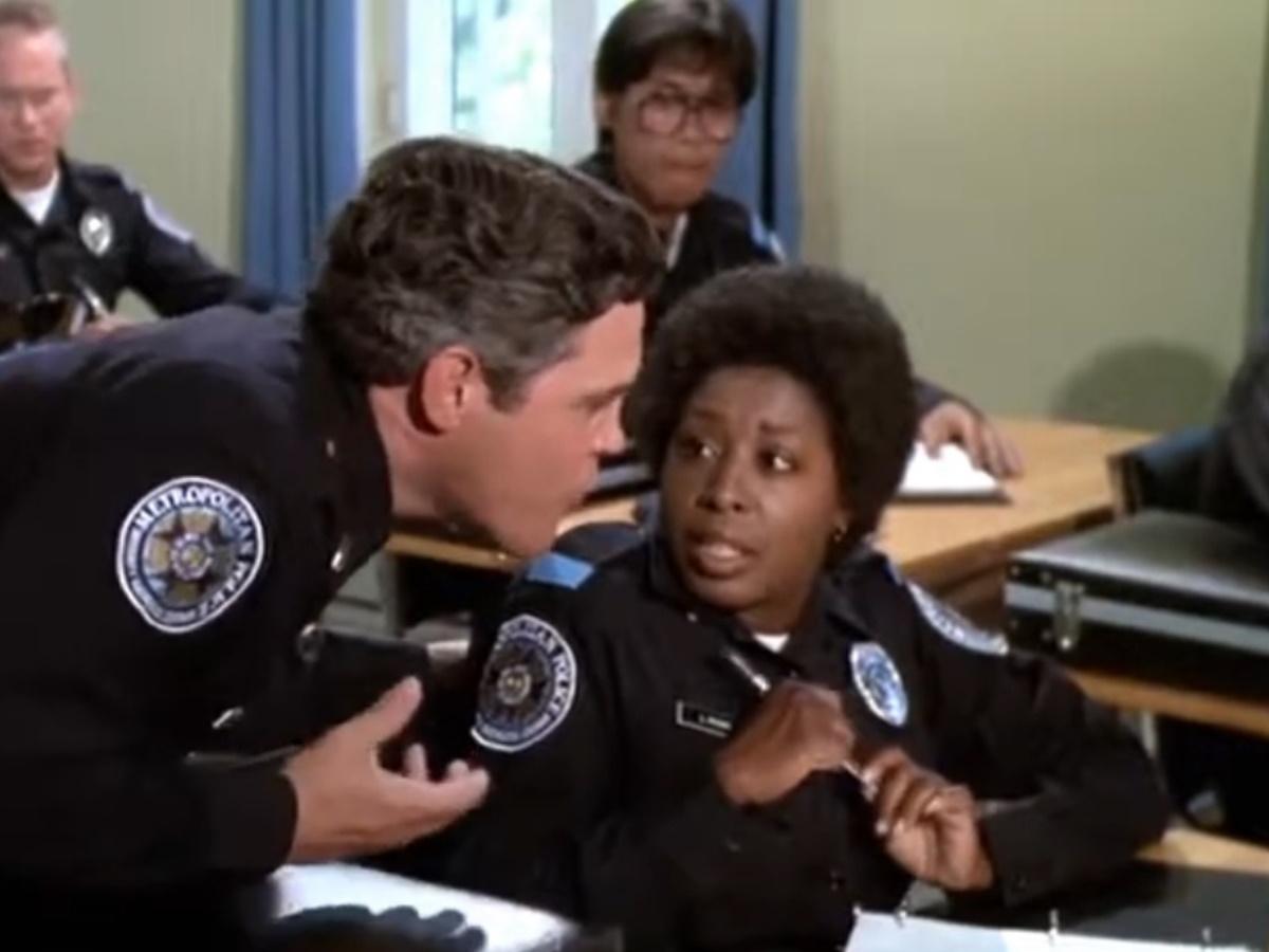 Una scena di Scuola di Polizia