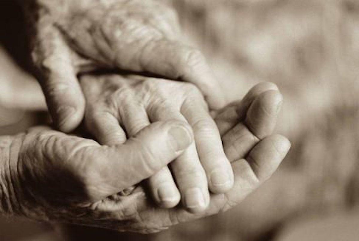 Matrimonio tra anziani