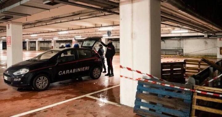crollo parcheggio Milano