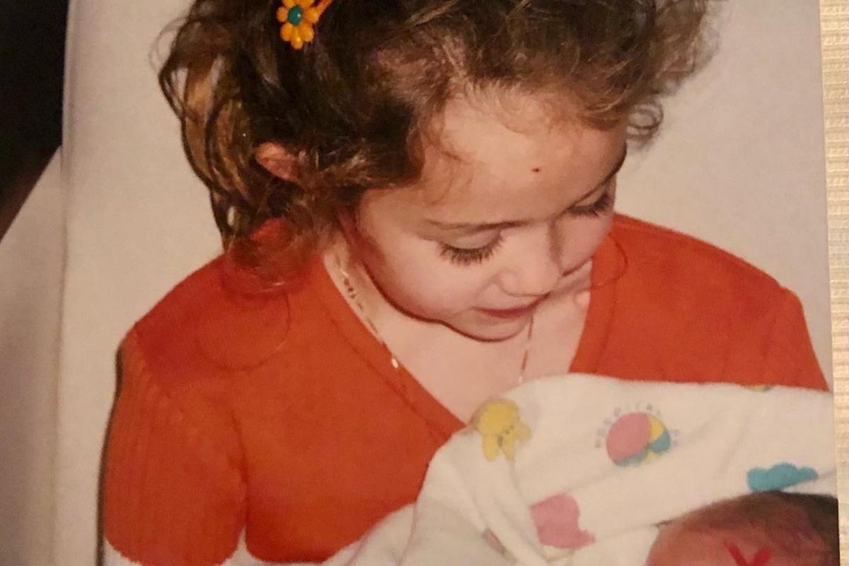 Miley Cyrus da bambina