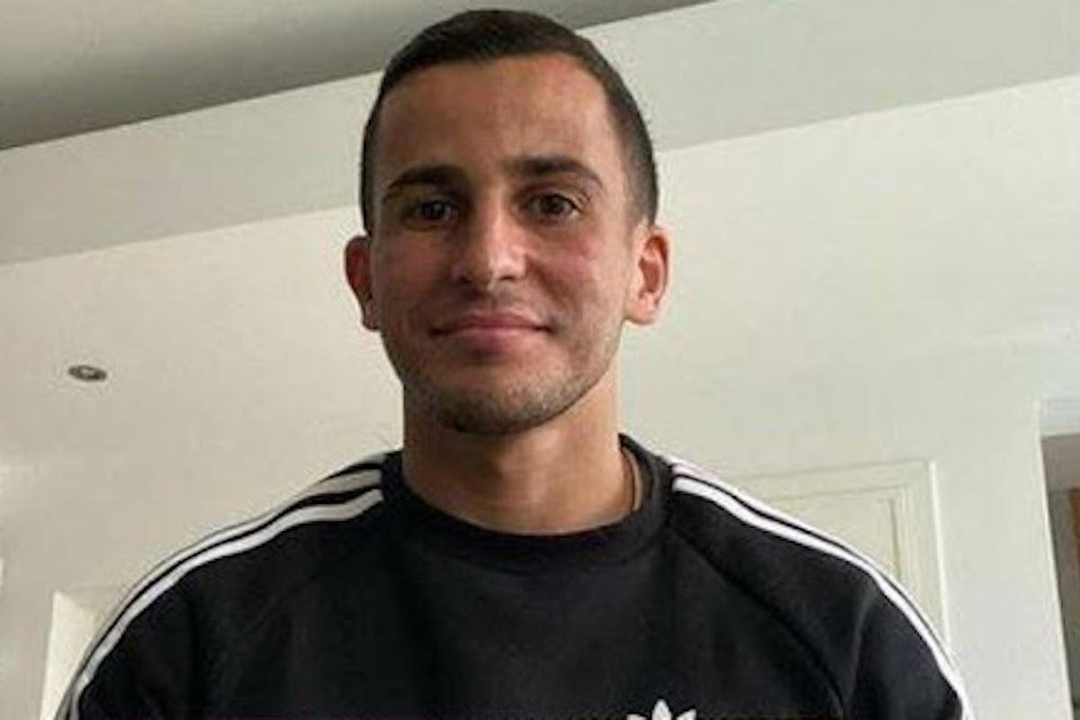 Omar Elabdellaoui che sorride