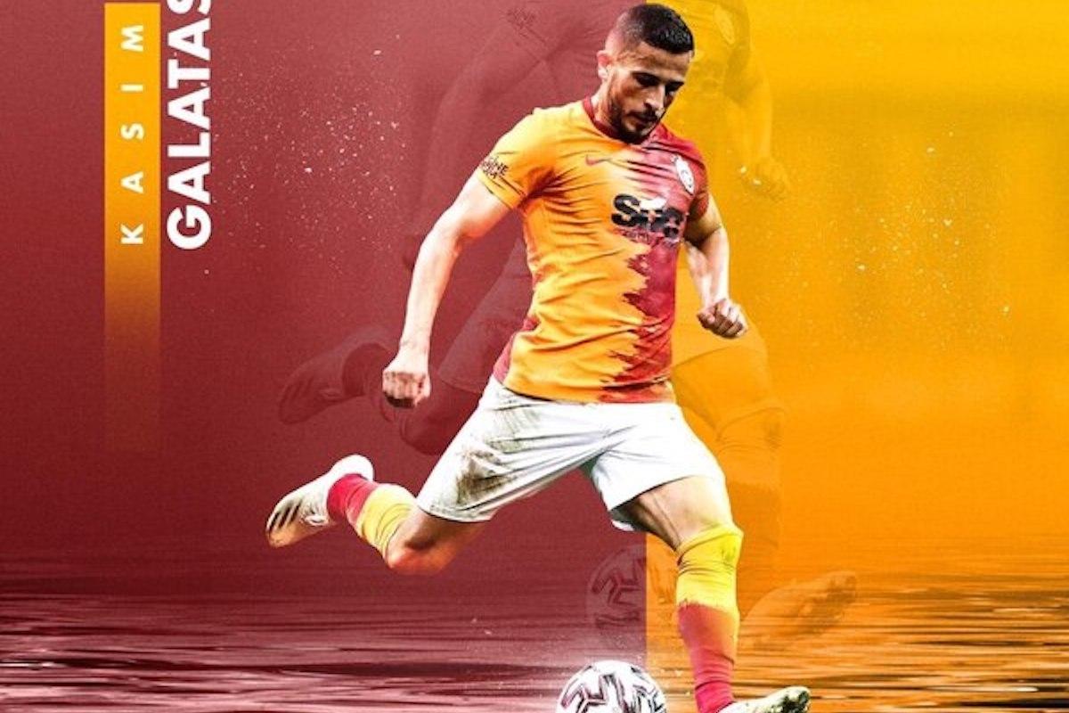 Omar Elabdellaoui in azione con il Galatasaray