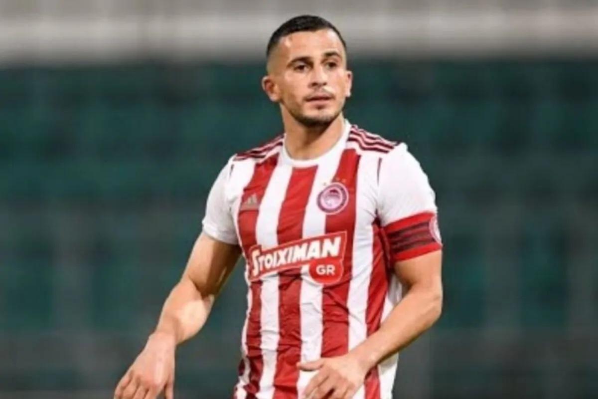 Elabdellaoui Omar veste la maglia dell'Olympiakos