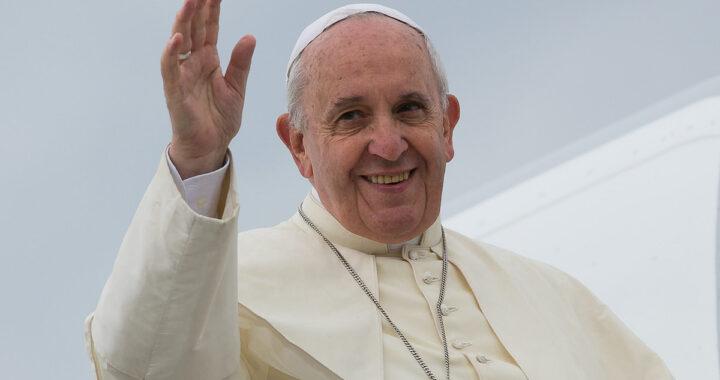 Saluto Papa Francesco