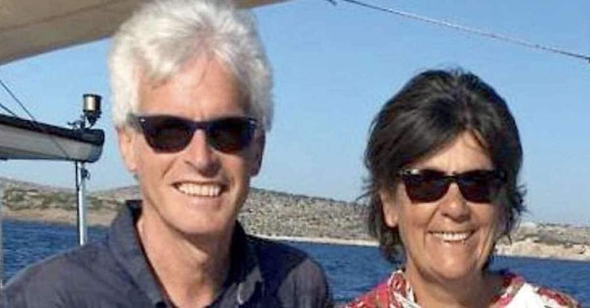 Laura Perselli e Peter Neumair sorridenti