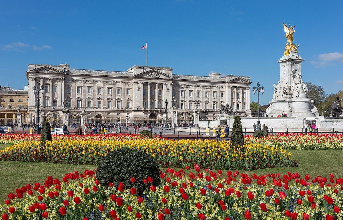 Facciata Buckingham Palace