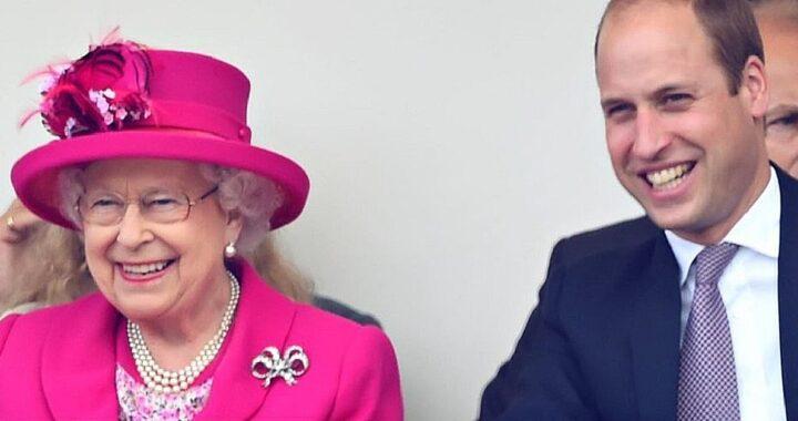 Regina Elisabetta e William