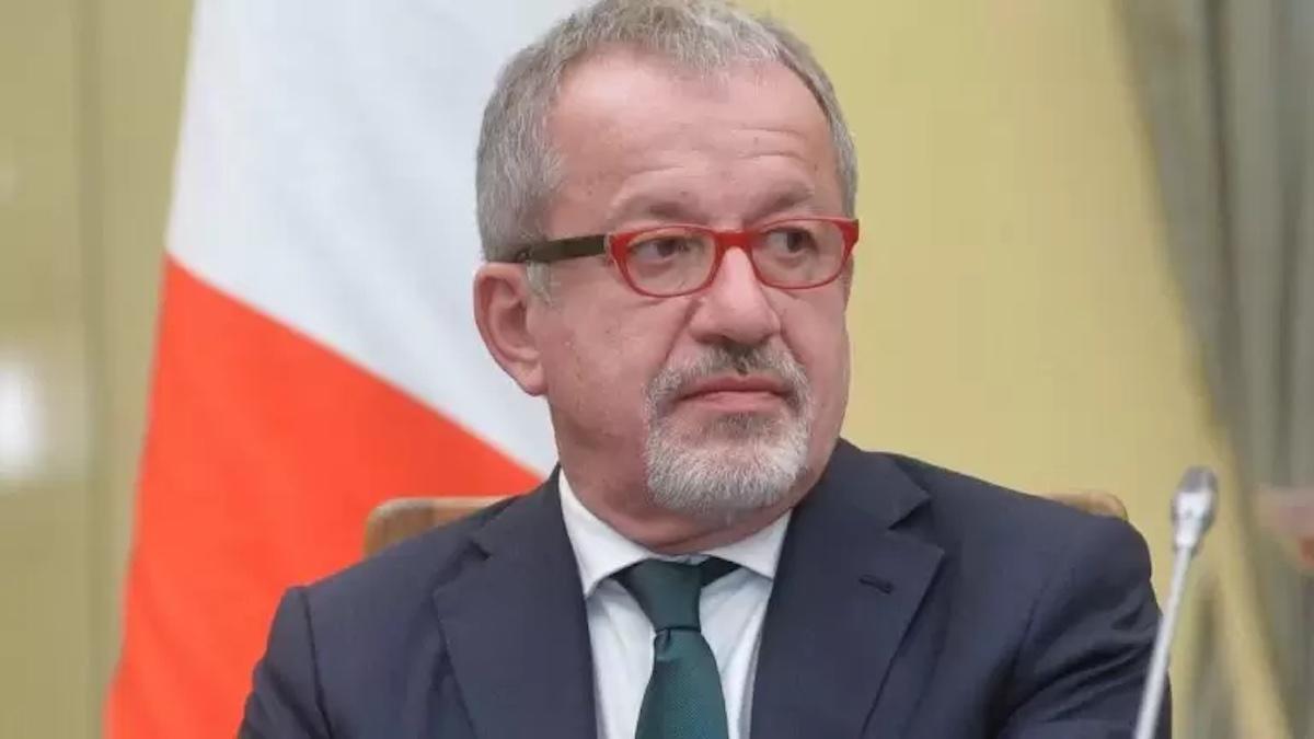 In conferenza Maroni Roberto