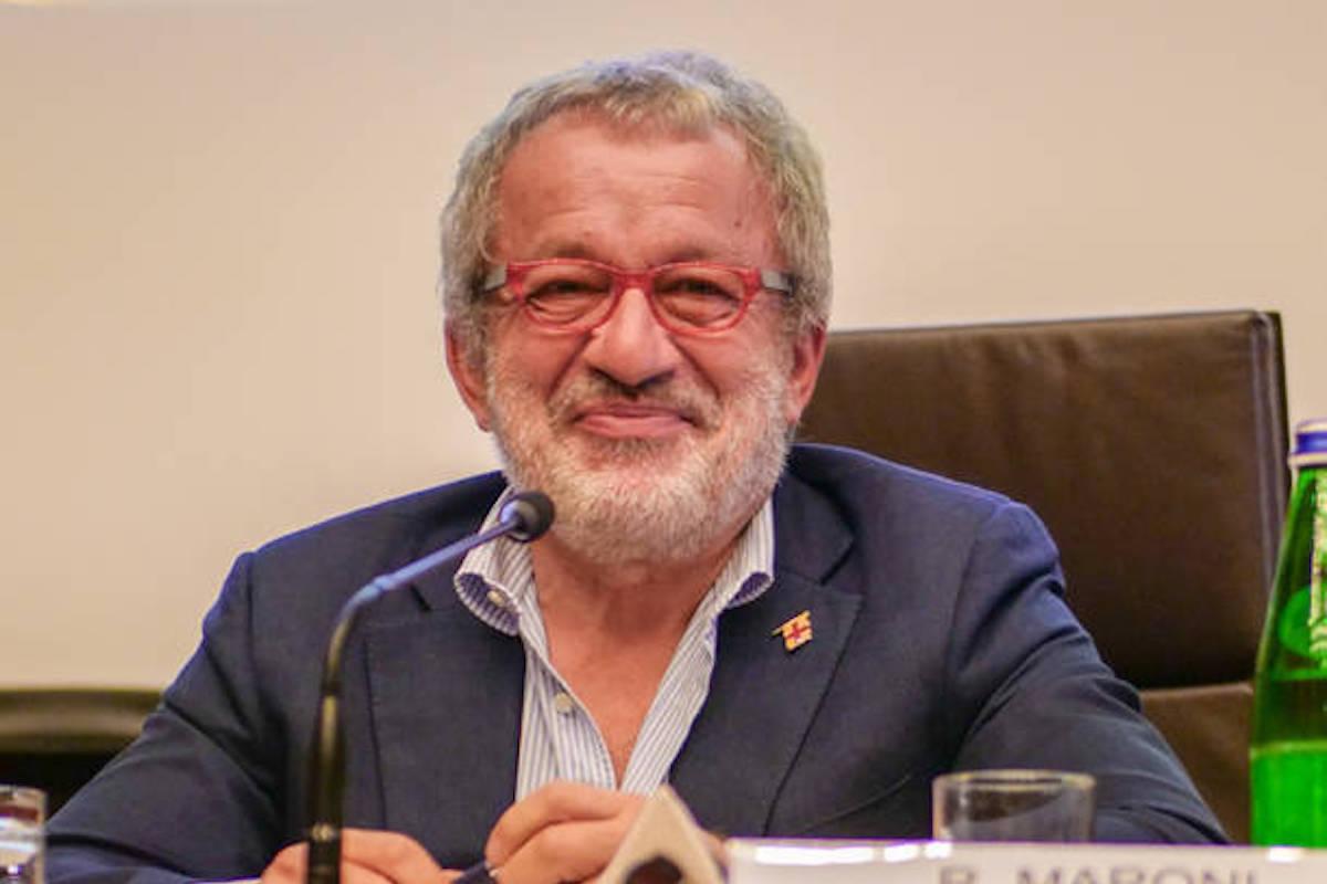 Roberto Maroni sorridente
