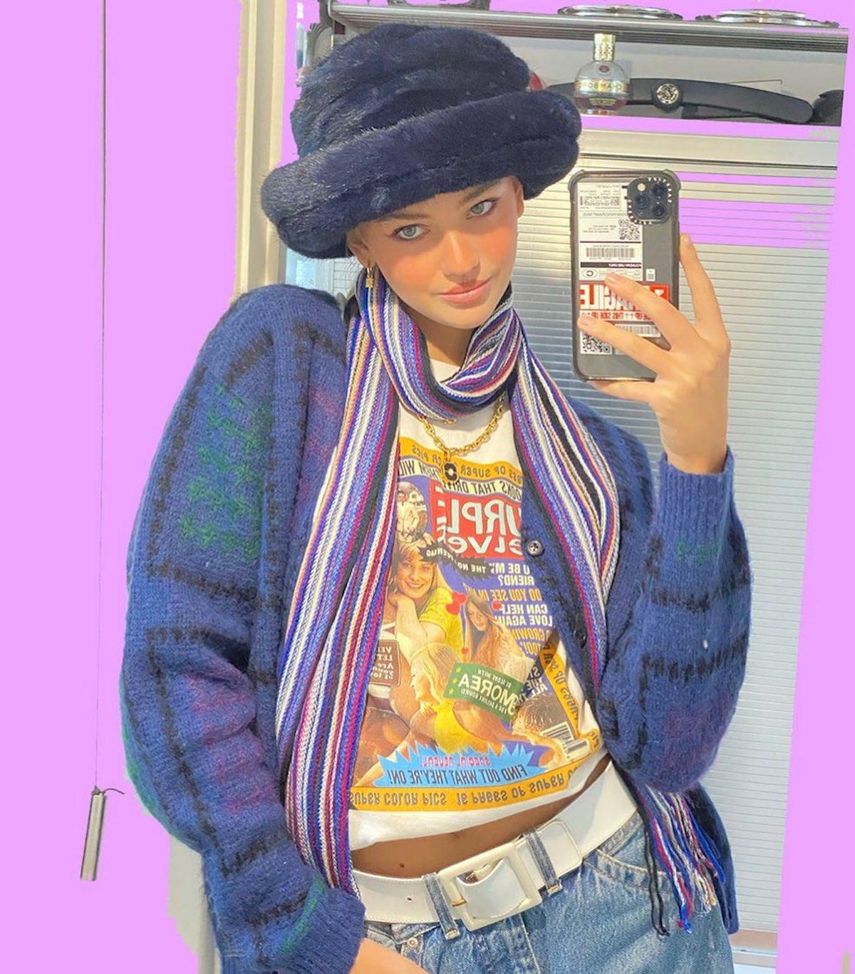 Mia Regan selfie