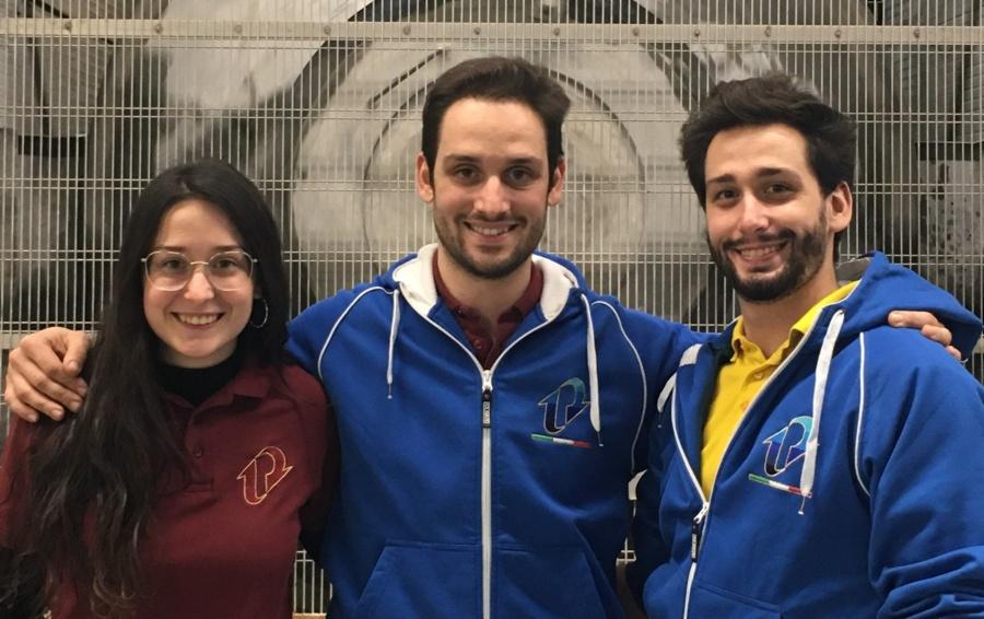 Marco, Giorgo e Maria Eleonora