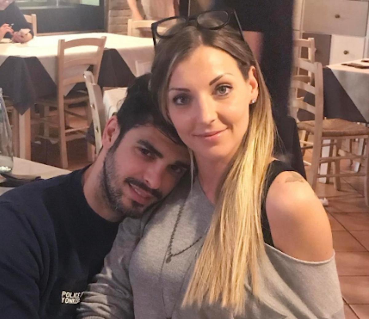 Selfie Cristian Gallella e Tara Gabrieletto