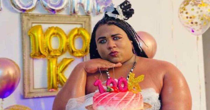 Ygona Moura festeggia i 100 mila followers