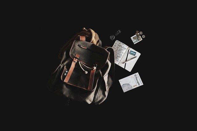 backpacking zaino