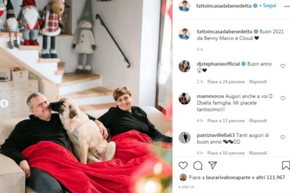 Benedetta Rossi: come ha trascorso il capodanno
