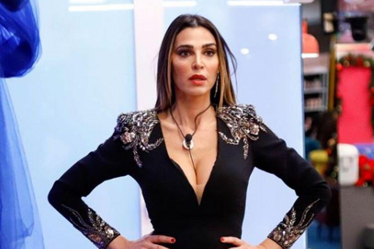 GF Vip, Cecilia Capriotti rimprovera Andrea Zenga davanti a tutti