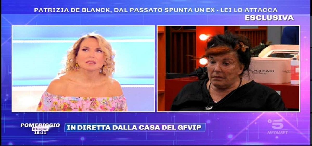 GF Vip: Patrizia De Blanck attacca Barbara D'Urso