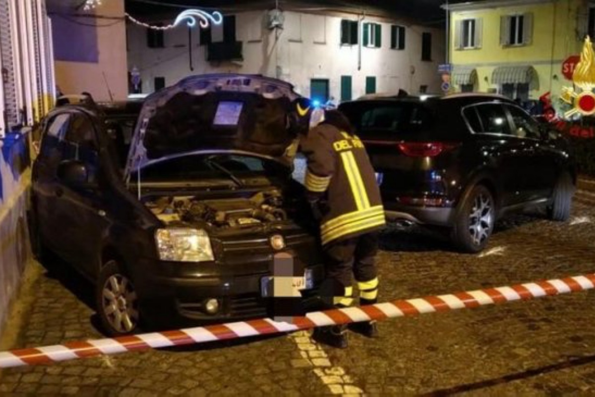 incidente olcenengo bimba ferita