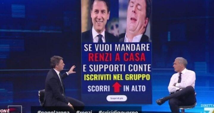 """Matteo Renzi smaschera Conte: """"Se mi hanno offerto gli Esteri? Lei non dice balle"""""""