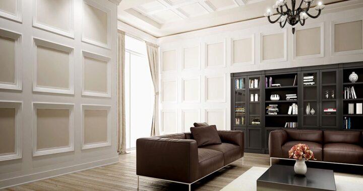 Boiserie per pareti: quando sceglierla e che effetto dona alla casa