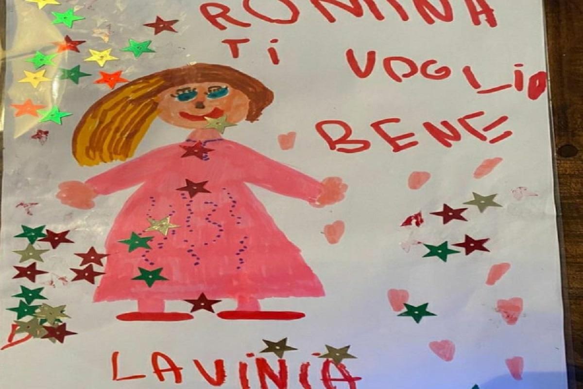 Romina Power riceve un regalo speciale