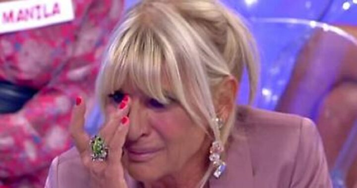 UeD: Gemma Galgani, piange in studio