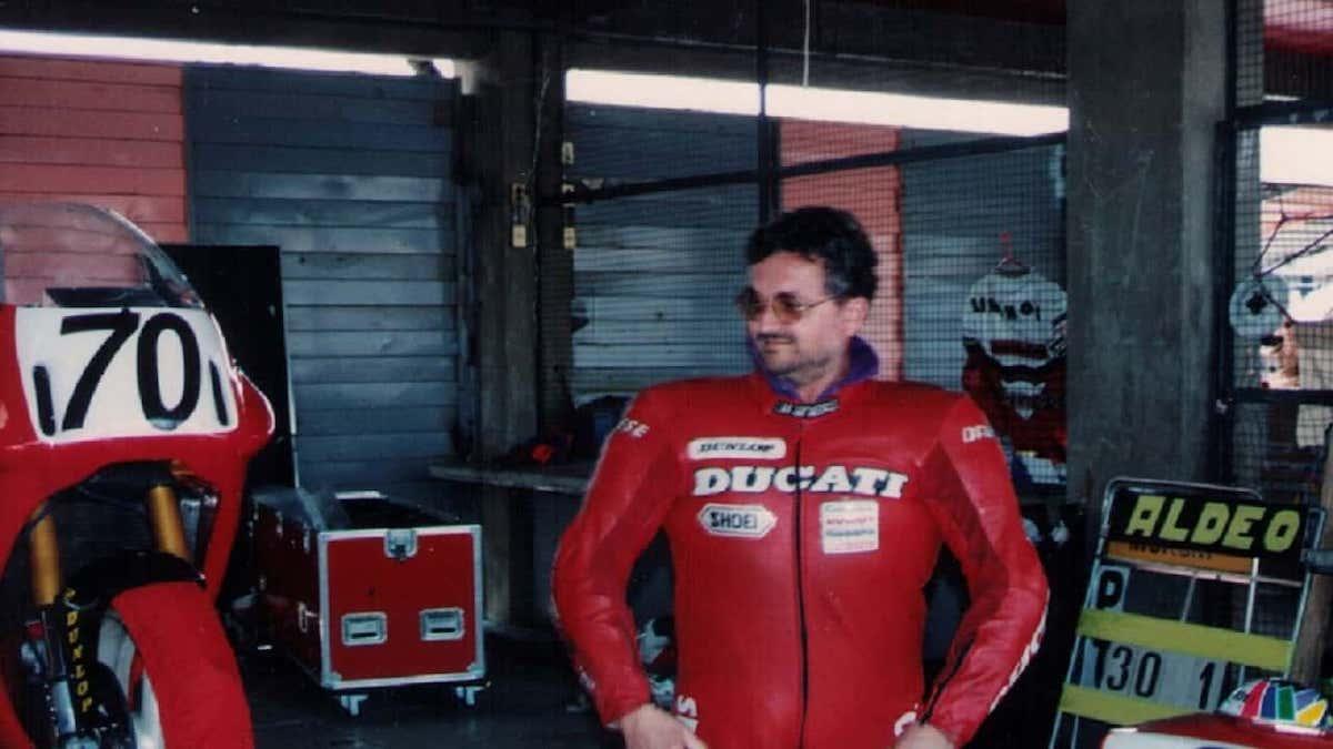 Aldeo Presciutti in Ducati