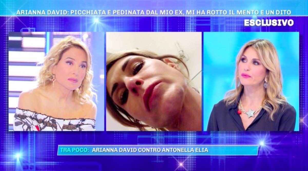 Arianna David da Barbara d'Urso