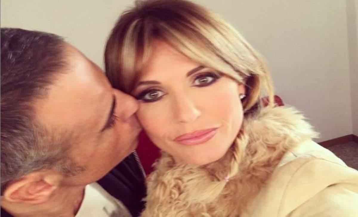 David Arianna con il marito
