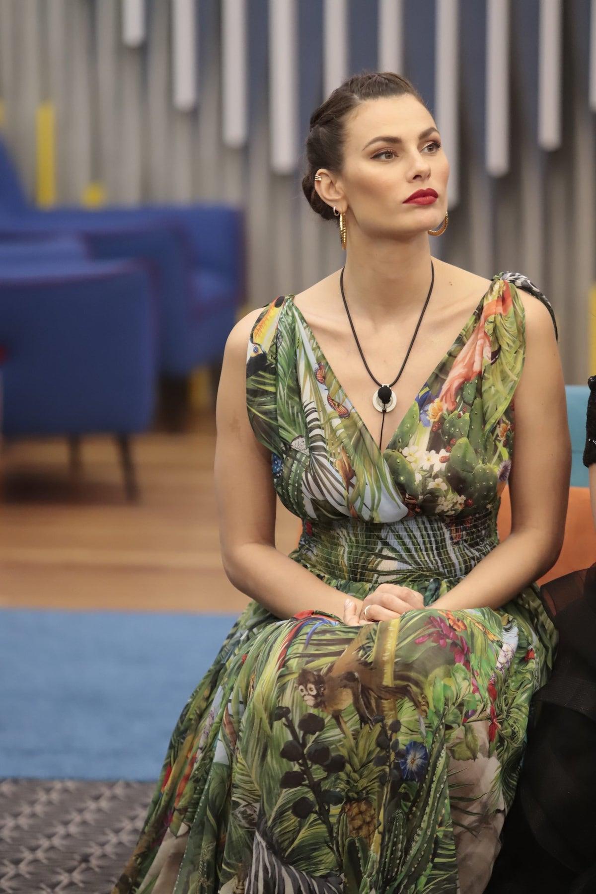 Dayane Mello in abito Dolce&Gabbana