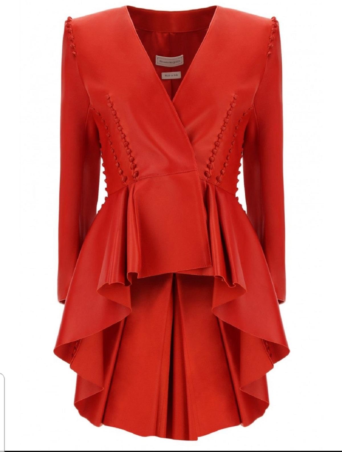 blazer rosso