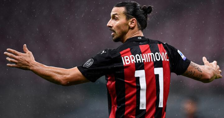 Zlatan Ibrahimovic attaccante Milan