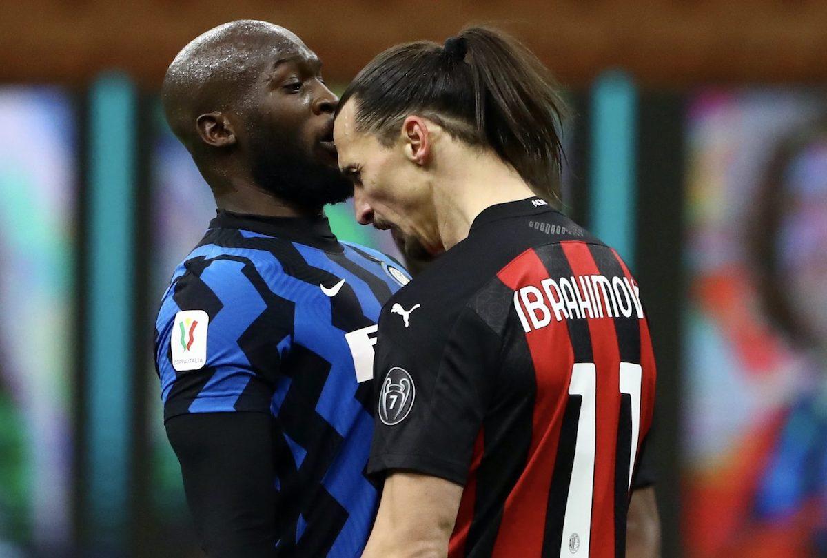 Lukaku e Ibrahimovic scontro a muso duro