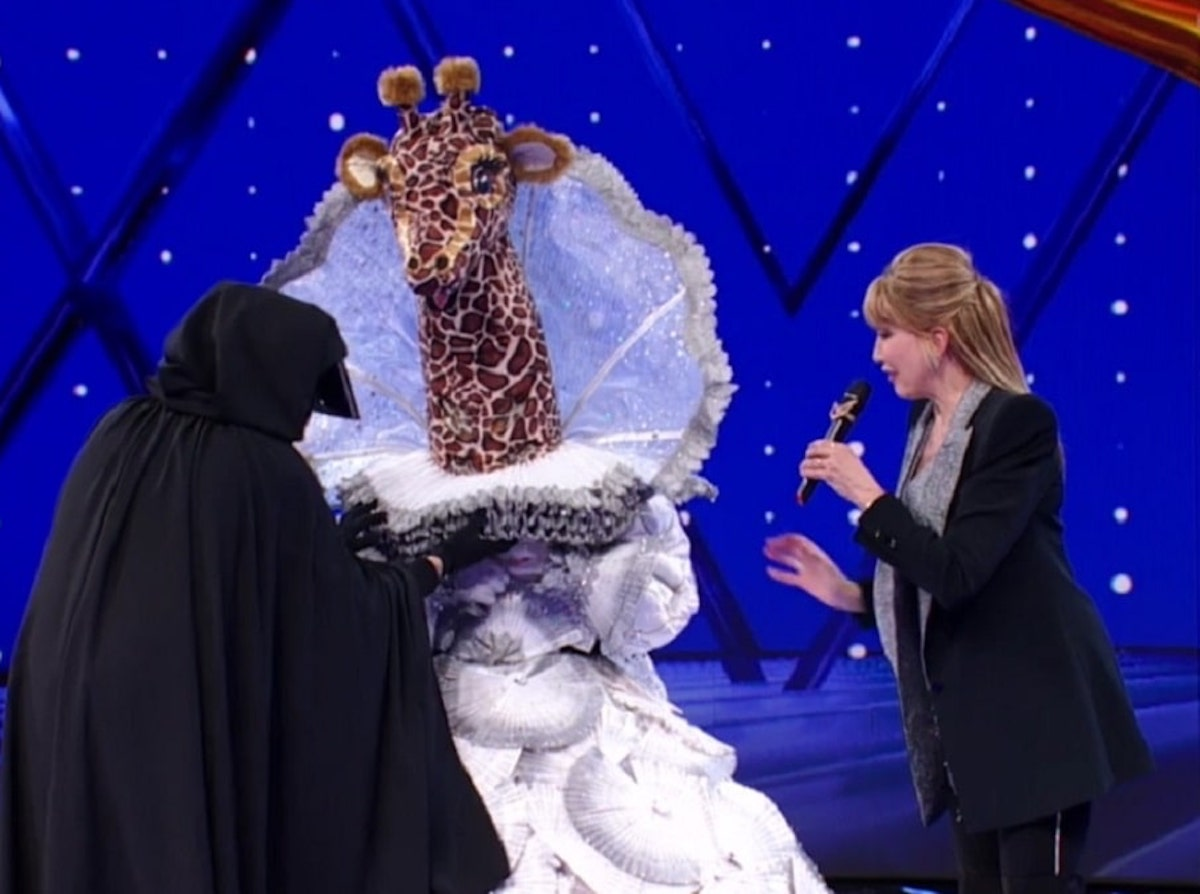 Il Cantante Mascherato concorrente Giraffa