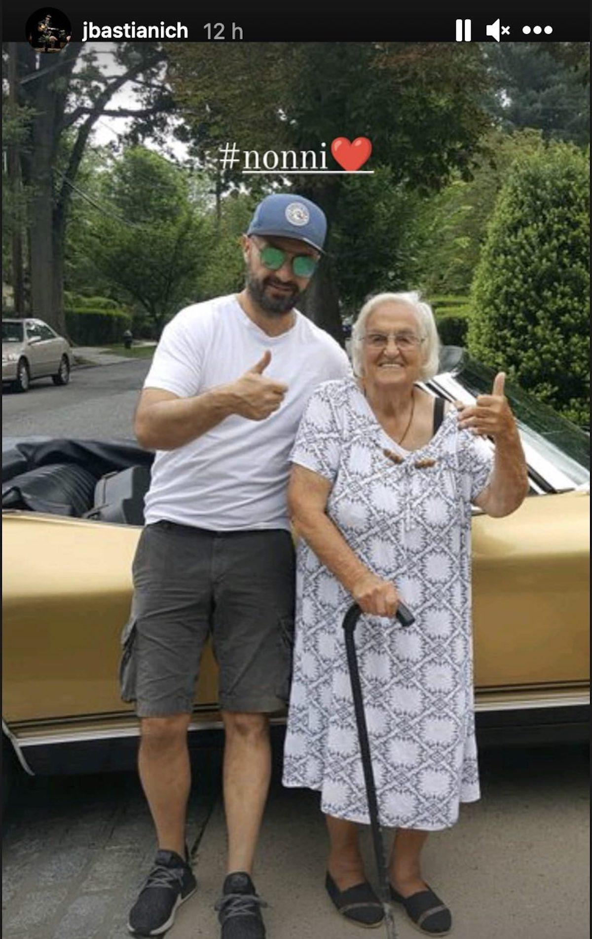 Chef insieme alla nonna