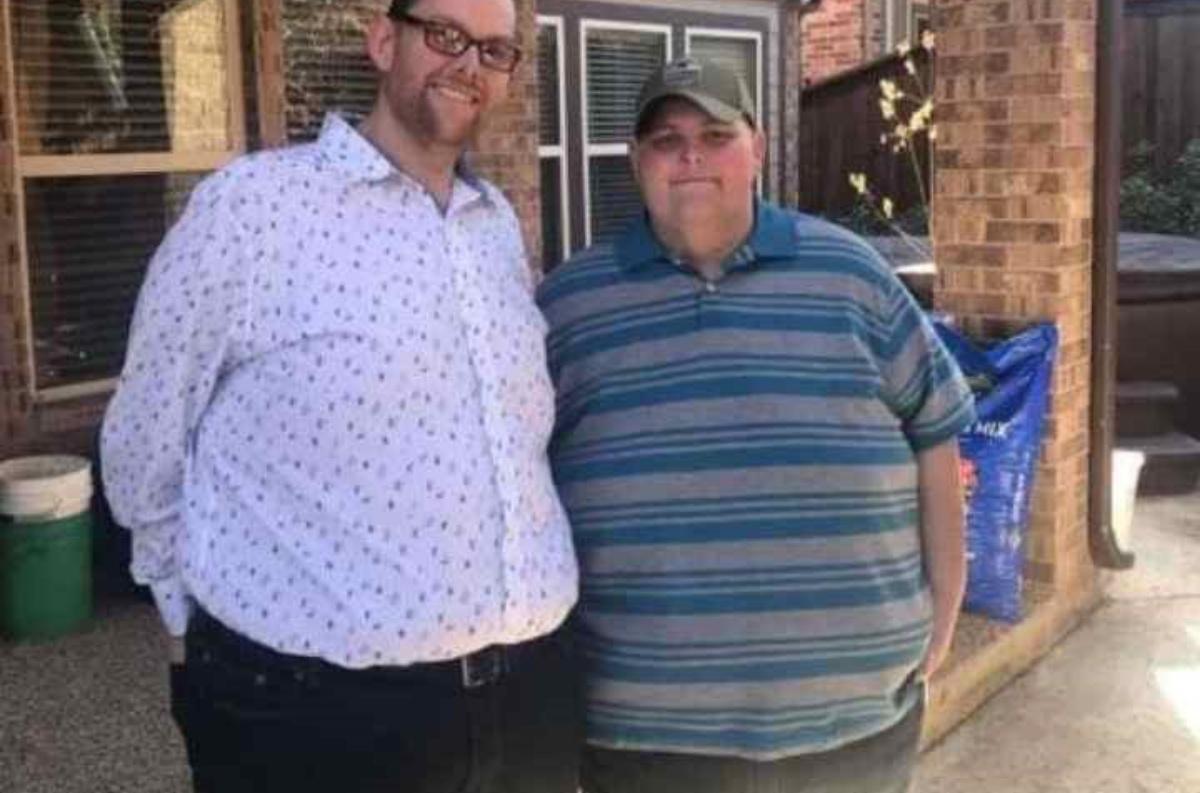 John Hambrick e il fratello Lonnie oggi